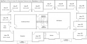 Moorestown DPI floorplans