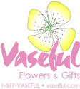 Vaseful Flowers and Gifts Logo